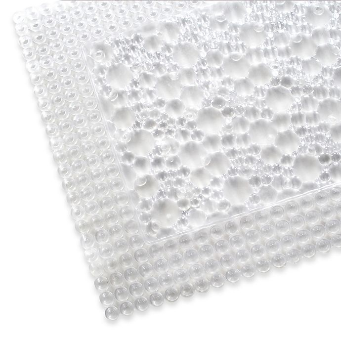 Alternate image 1 for Fuse Bath Mat in Clear