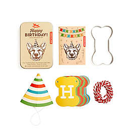 Kikkerland® 6-Piece Dog Birthday Kit