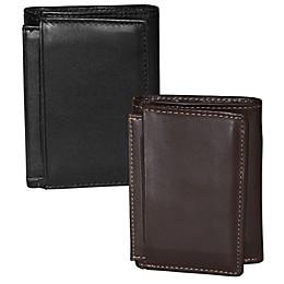 Dopp Leather Regatta ID Three-Fold Wallet