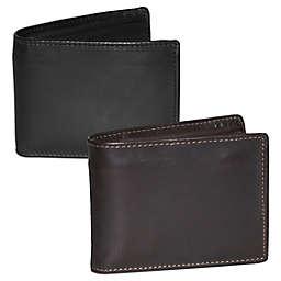 Dopp Leather Regatta Zip-Around Convertible Billfold