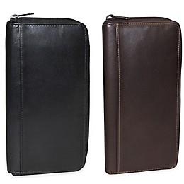 Dopp Leather Regatta Zipper Passport Organizer