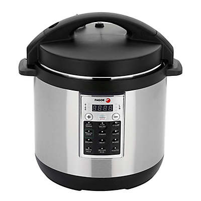 Fagor Premium 6 qt. Electric Pressure Cooker and Rice Cooker