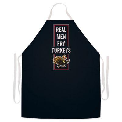 L A Imprints Quot Real Men Fry Turkeys Quot Novelty Apron In