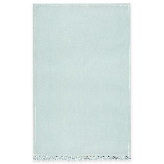 Alternate image 1 for Heritage Lace® Newport Tea Towel in Aqua