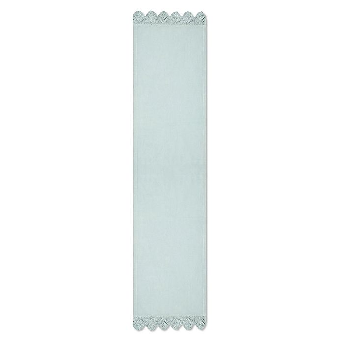 Alternate image 1 for Heritage Lace® Newport 60-Inch Table Runner in Aqua