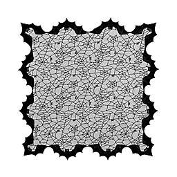 Heritage Lace® Halloween 58-Inch Bats Table Topper in Black