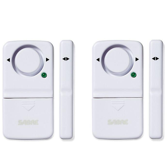 Sabre Hs Dwa2 2 Pack Door Window Alarm Set Bed Bath Amp Beyond