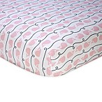 Nautica Kids® Mix & Match Whale Print Fitted Crib Sheet