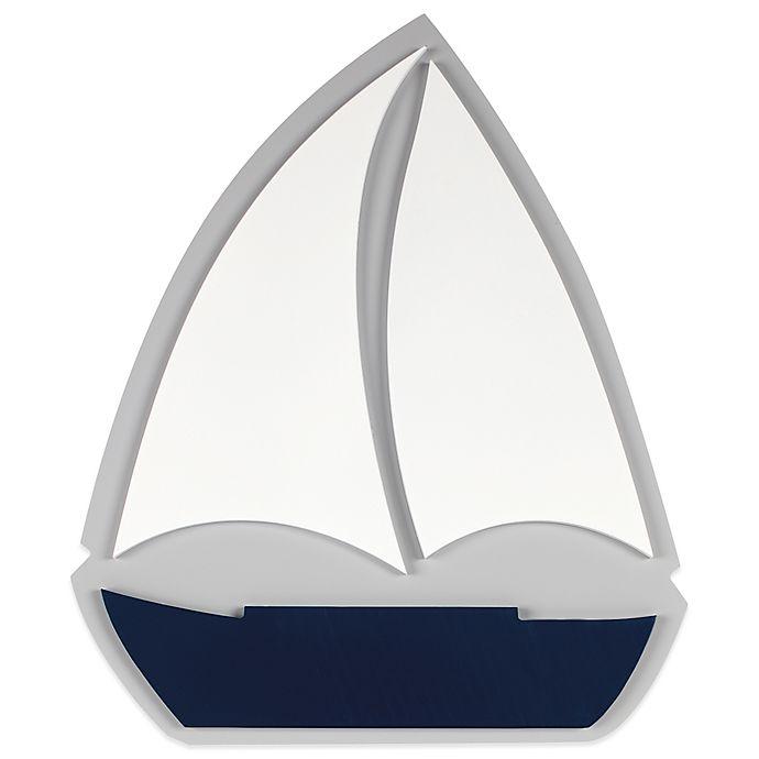 Alternate image 1 for Nautica Kids® Mix & Match Sailboat Wall Décor