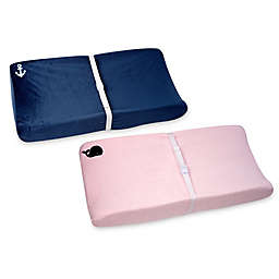 Nautica Kids® Mix & Match Velboa Changing Pad Covers