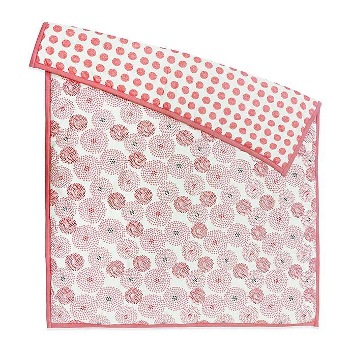 Alternate image 1 for Petit Nest™ Chloe Punch Flower Reversible Coverlet