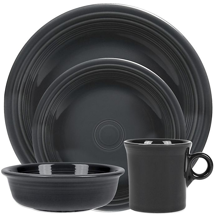 Fiesta® Dinnerware Collection in Slate | Bed Bath & Beyond