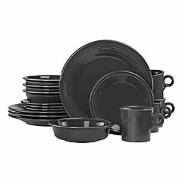 Fiesta® 16-Piece Dinnerware Set in Slate