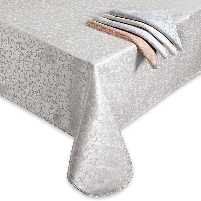 Alternate image 1 for Lenox® Opal Innocence™ Oblong Tablecloth