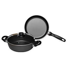 Swiss Diamond® 3-Piece Induction Fry Pan and Casserole Set