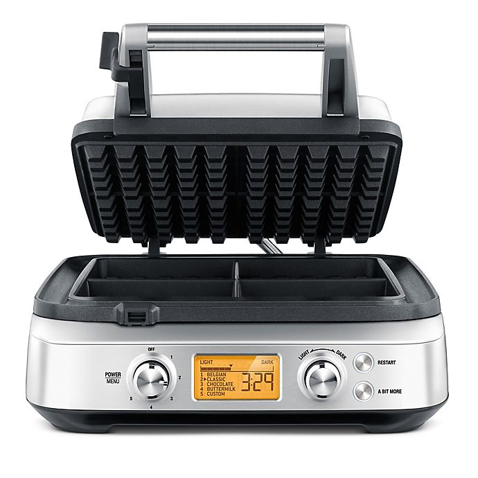 Alternate image 1 for Breville® The Smart Waffle™ Pro 4 Slice