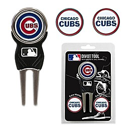 MLB Chicago Cubs Divot Tool with Markers Pack