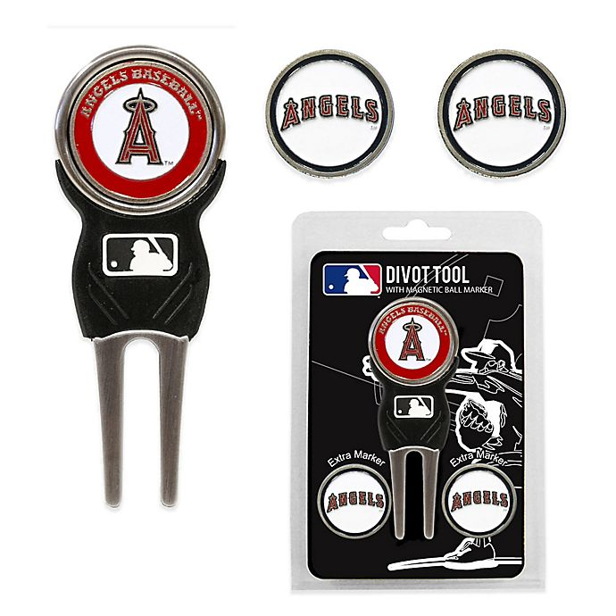 Alternate image 1 for MLB Los Angeles Angels Divot Tool with Markers Pack