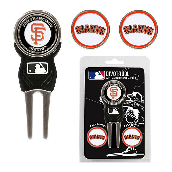 Alternate image 1 for MLB San Francisco Giants Divot Tool with Markers Pack