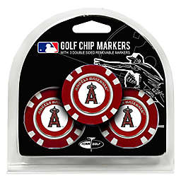 MLB Los Angeles Angels Golf Chip Ball Markers (Set of 3)