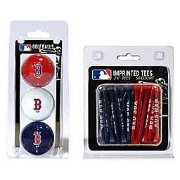 MLB Boston Red Sox Golf Ball and Golf Tee Pack