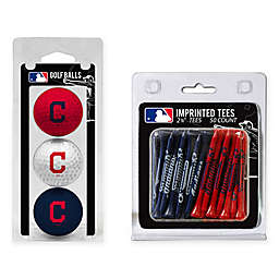 MLB Cleveland Indians Golf Ball and Golf Tee Pack
