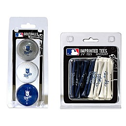 MLB Golf Ball and Golf Tee Pack