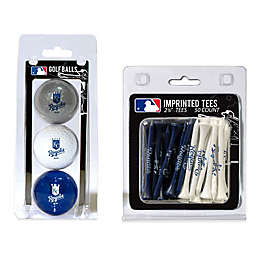 MLB Golf Ball and Golf Tee Pack Collection