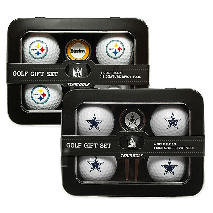 nfl 5 piece golf ball and divot tool set bed bath beyond. Black Bedroom Furniture Sets. Home Design Ideas