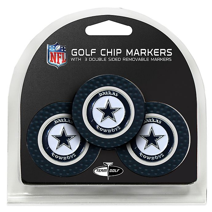 Alternate image 1 for NFL Dallas Cowboys Golf Chip Ball Markers (Set of 3)