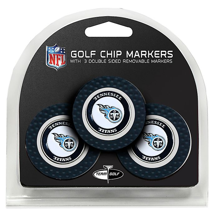 Alternate image 1 for NFL Tennessee Titans Golf Chip Ball Markers (Set of 3)