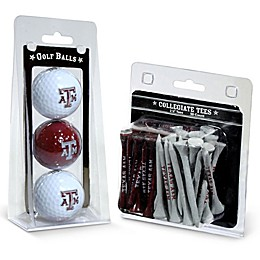 Texas A&M University Golf Ball and Tee Pack