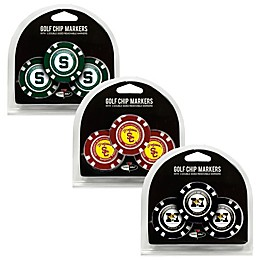 NCAA Golf Chip Ball Markers (Set of 3)