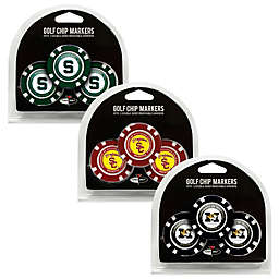NCAA Golf Chip Ball Markers Collection (Set of 3)