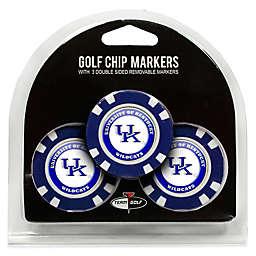 NCAA University of Kentucky Golf Chip Ball Markers (Set of 3)