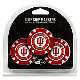 NCAA Indiana University Golf Chip Ball Markers (Set of 3)