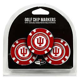 NCAA Indiana University Golf Chip Ball Markers (Set of 3)