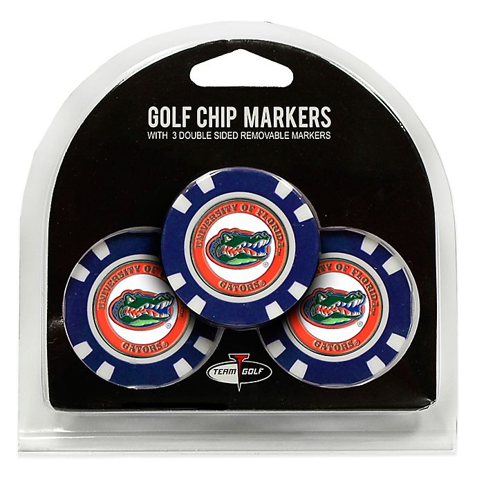 Alternate image 1 for NCAA University of Florida Golf Chip Ball Markers (Set of 3)