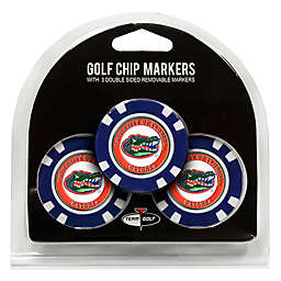 NCAA University of Florida Golf Chip Ball Markers (Set of 3)