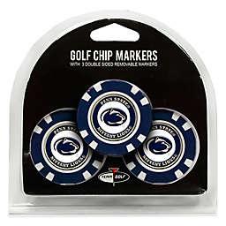 NCAA Penn State University Golf Chip Ball Markers (Set of 3)