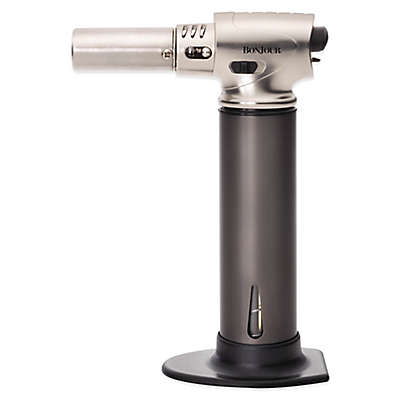 BonJour® Professional Culinary Creme Brulee Torch in Stainless Steel