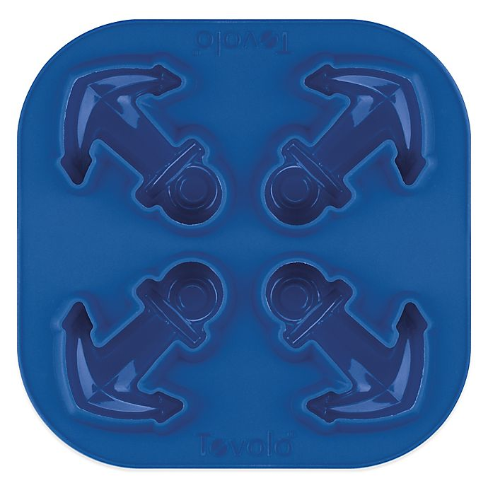 Alternate image 1 for Tovolo® Anchor Silicone Novelty Ice Tray in Blue