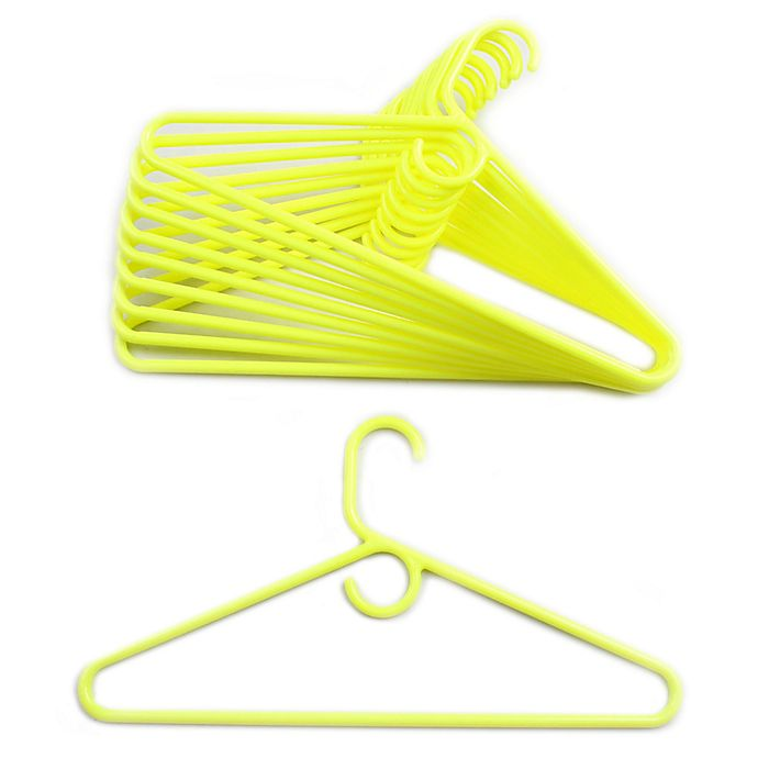 Alternate image 1 for Merrick 72-Count Value Pack Heavyweight Hangers in Yellow