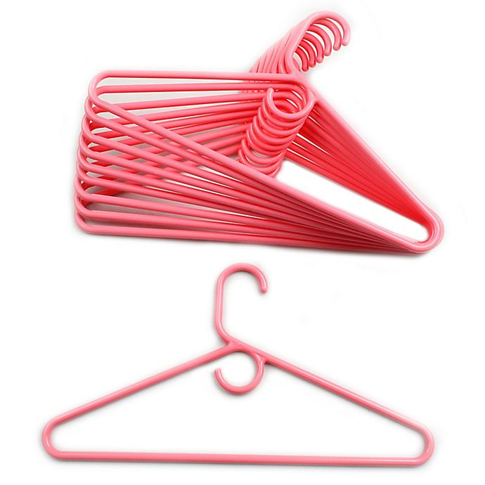 Alternate image 1 for Merrick 72-Count Value Pack Heavyweight Hangers in Light Pink