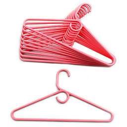 Merrick 72-Count Value Pack Heavyweight Hangers in Light Pink