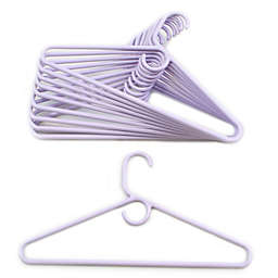 Merrick 72-Count Value Pack Heavyweight Hangers in Lavender