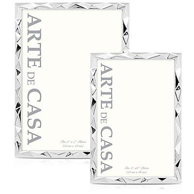 Arte de Casa Montes Picture Frame in Silver
