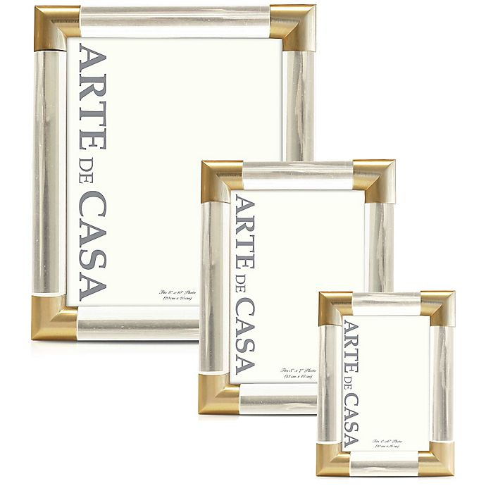 Alternate image 1 for Arte de Casa Frame in Gold
