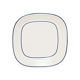 Mikasa® Swirl Square Banded Dinner Plate in Blue