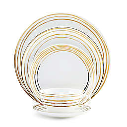 Mikasa® Swirl Dinnerware Collection in Gold